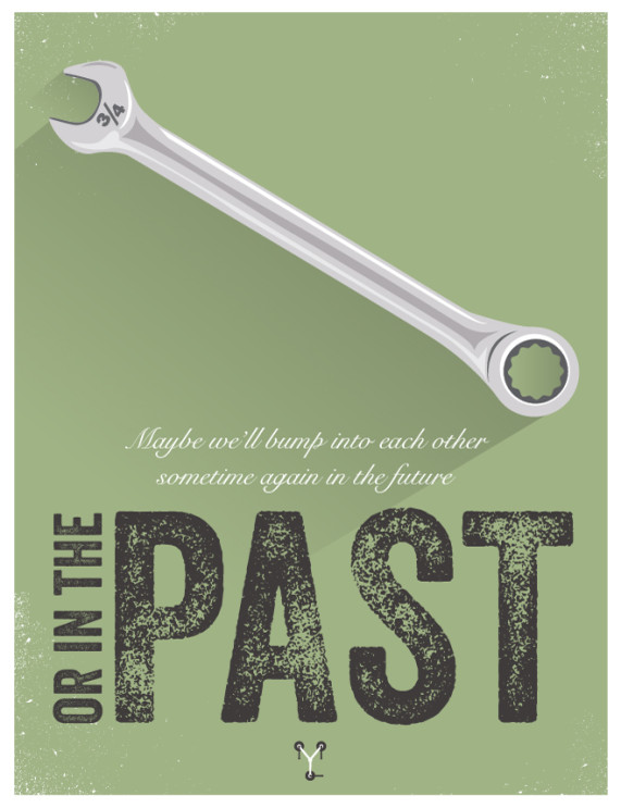 Graphic Designer Movie Poster Series - Back to the Future