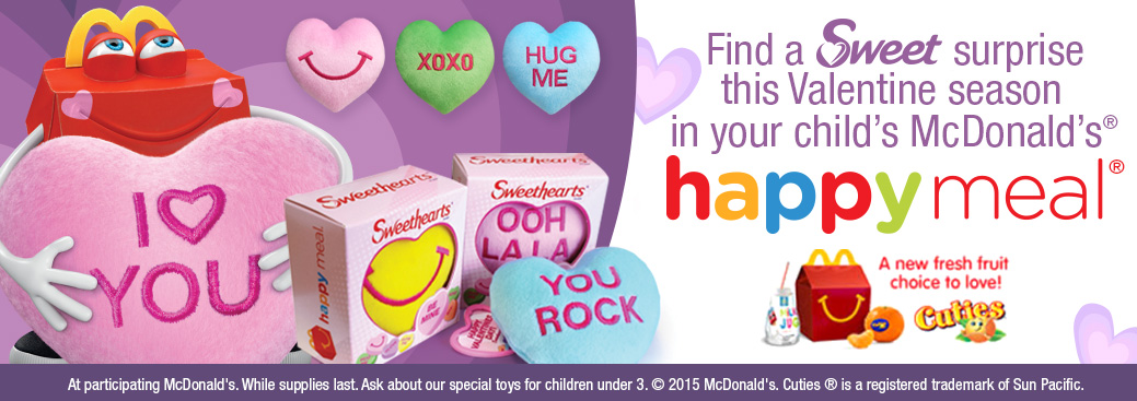McDonalds Sweethearts Happymeal