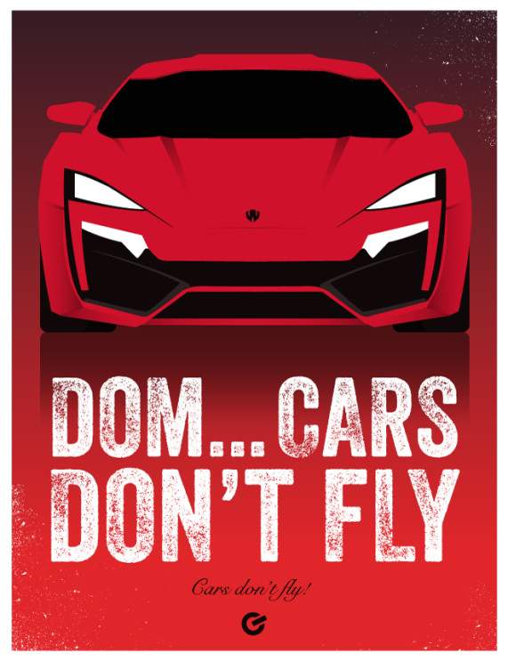 Furious 7 - Cars Don't Fly - Cinema Obscura Series