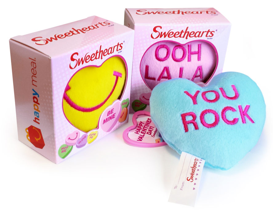 McDonalds Sweethearts Plush