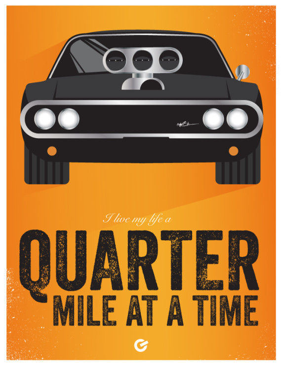 The Fast & Furious - Quarter Mile - Cinema Obscura Series