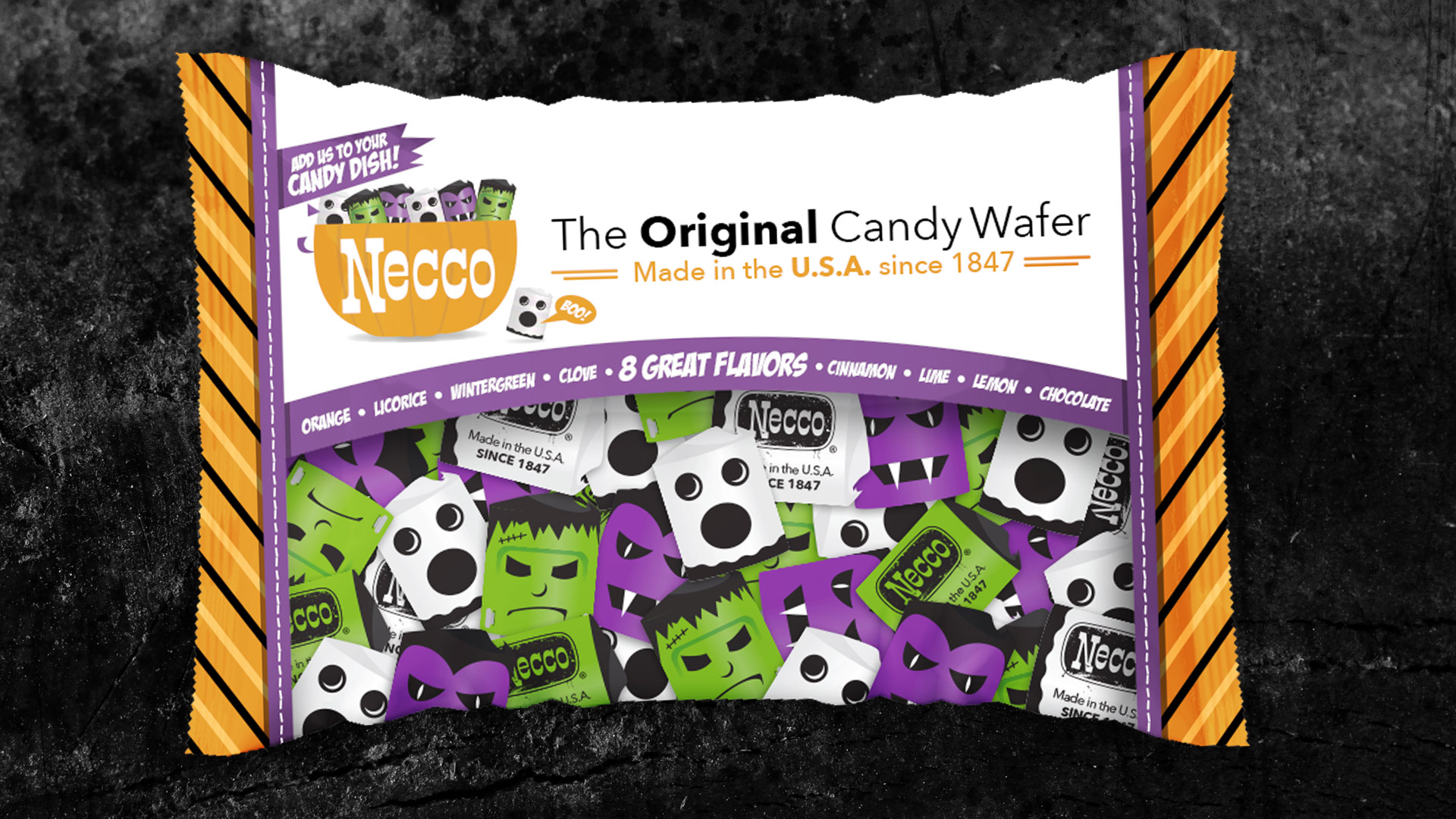 Necco Wafer Boo Bag