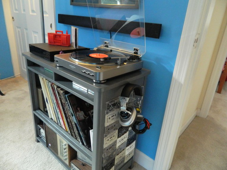 office remodel record cabinet flip